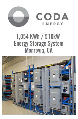 CODA Energy South Coast AQMD Project